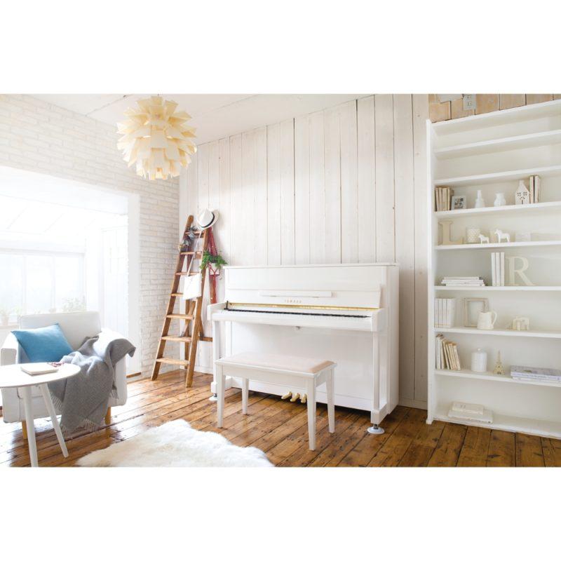 ヤマハアップライトピアノ b113PWH4