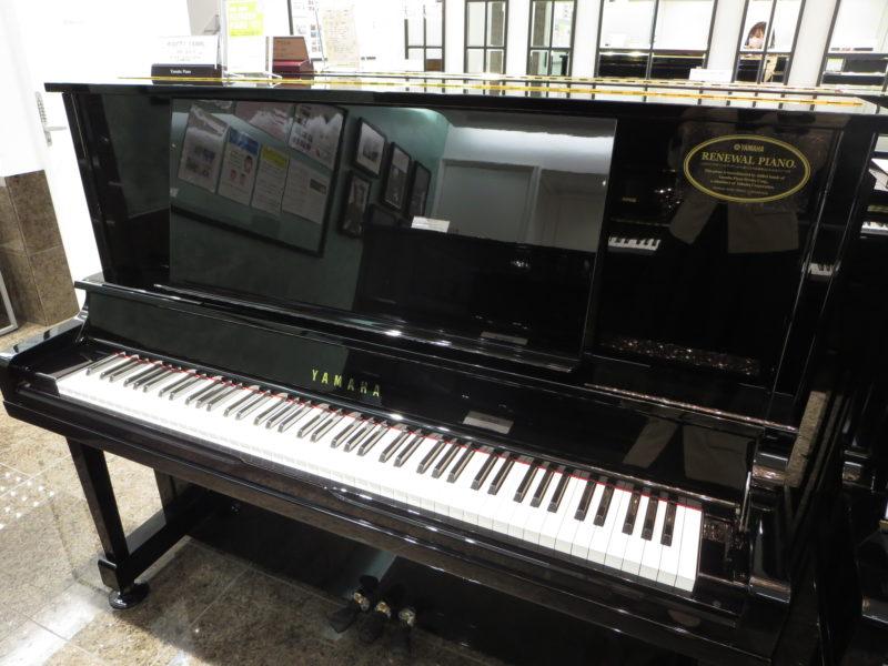 ヤマハリニューアルピアノ UX30BL