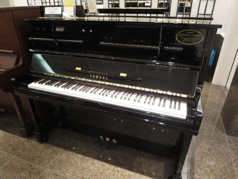 ヤマハリニューアルピアノ UX10BL