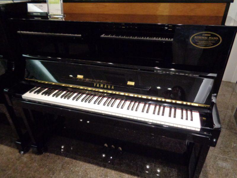 ヤマハリニューアルピアノ U10BL