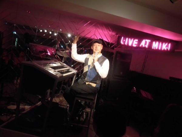 6/25 鷹野雅史LIVE AT MIKIレポート