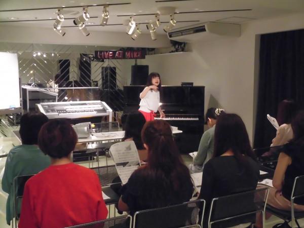 三木楽器講師研修「歌唱指導」が実施されました。