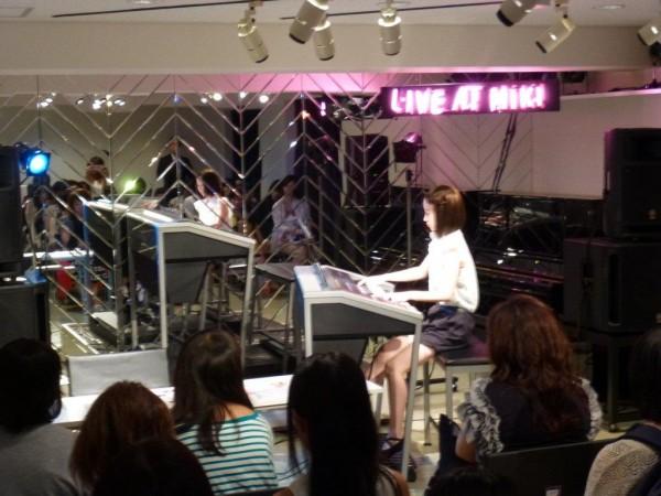 【大阪音楽大学 エレクトーン専攻 出張オープンキャンパス in三木楽器】が実施されました。